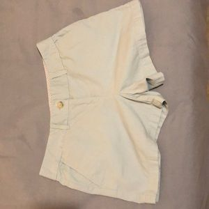 LOFT pale green shorts
